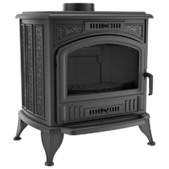 Freestanding STOVE K6 PW with water panel Ø 130