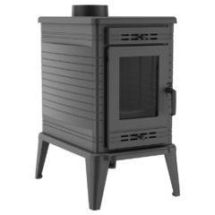 Freestanding STOVE K10 Ø 130 with ASDP