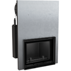Water fireplace ANTEK PW 8 guillotine