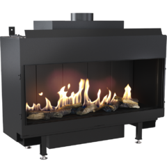 Gas fireplace LEO 100 for propane gas