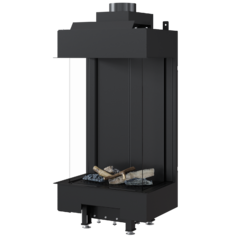 Gas fireplace LEO 45/68 left/right for propane gas