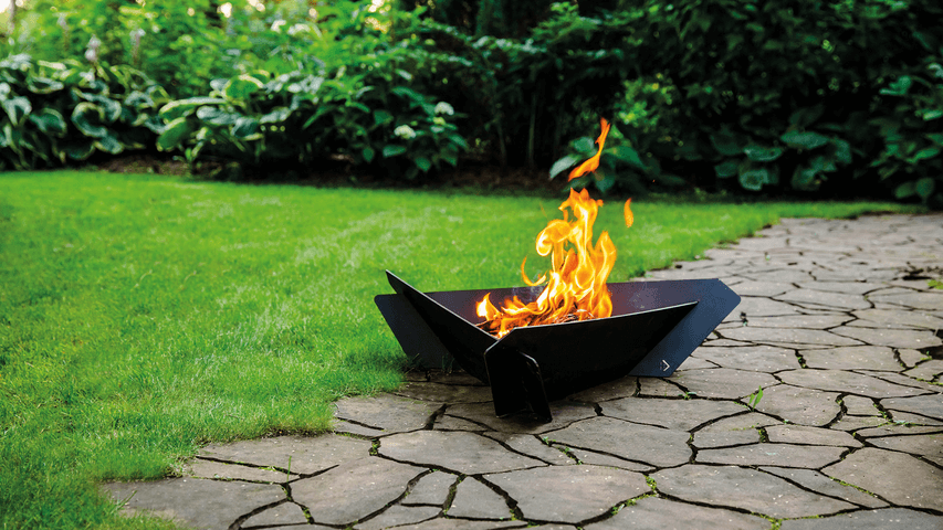 TRIANGLE garden fire pits